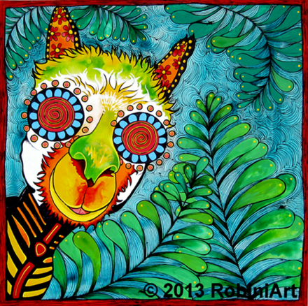 RobiniArt Alpaca Copyright 2013 RobiniArt