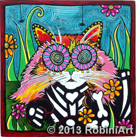 Robiniart Mittens the Cat