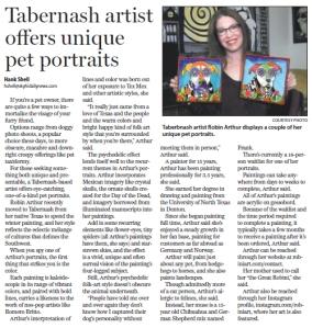 Robin Arthur_MiddleParkTimes_news
