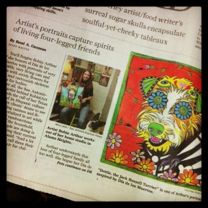 RobiniArt San Antonio Express 2013