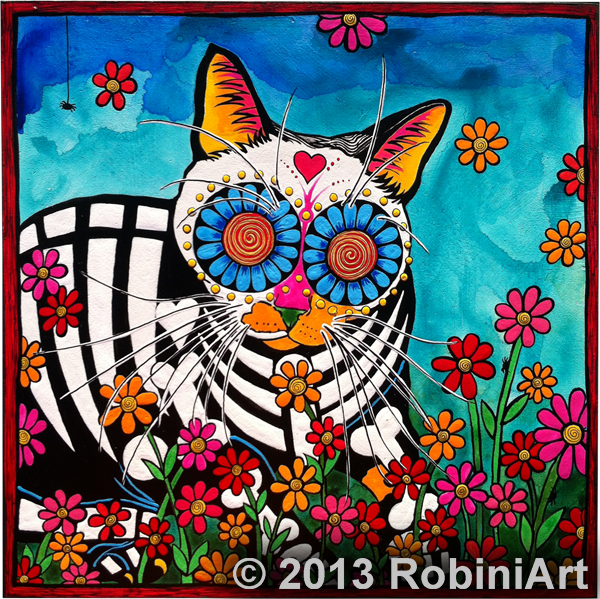 RobiniArt Sparky, the Cat