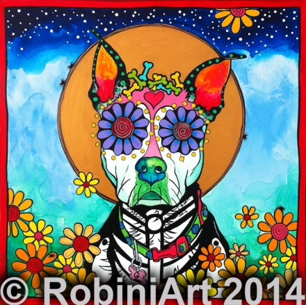 RobiniArt Gypsy, the Pit Mix