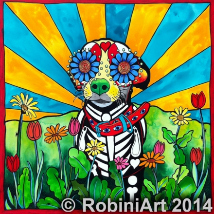 RobiniArt Nacho, the Chihuahua