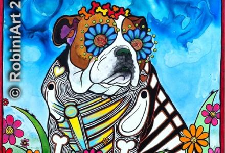RobiniArt Lou Bulldog 2014