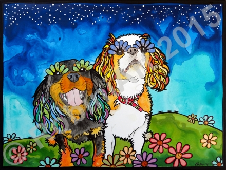 RobiniArt Cavalier King Charles Spaniels