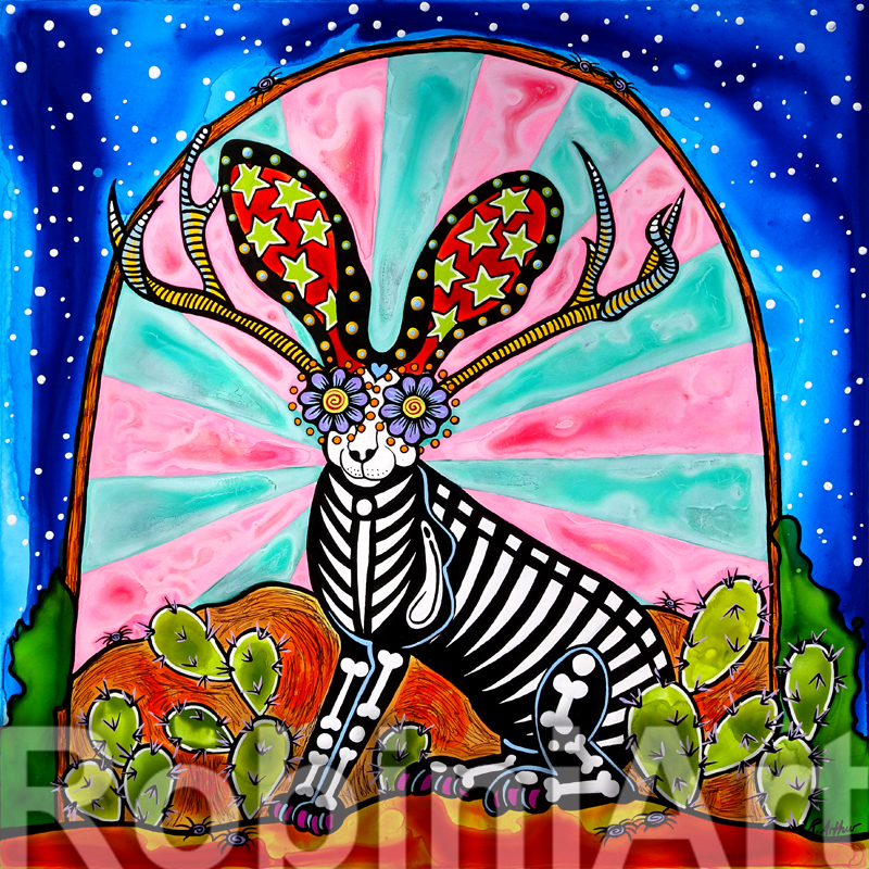 Jackalope by Robin Arthur of RobiniArt ©RobiniArt 2016
