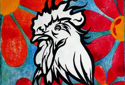 Rooster RobiniArt 2017