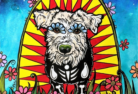 Custom Dog Portrait Terrier RobiniArt
