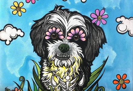 Custom Pet Portrait Shih Tzu RobiniArt 2018