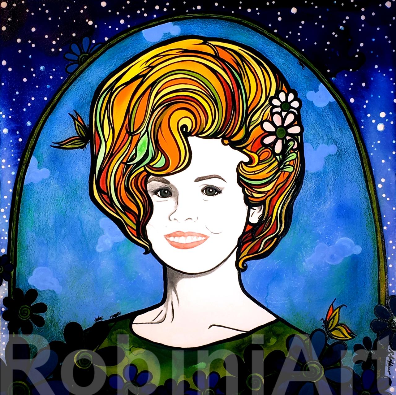 Higher the Hair I RobiniArt 2019