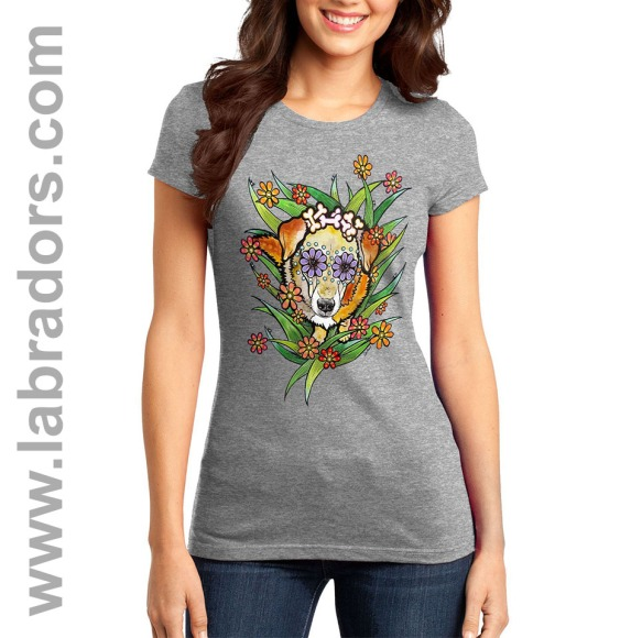 RobiniArt Labradors.com tshirt sample