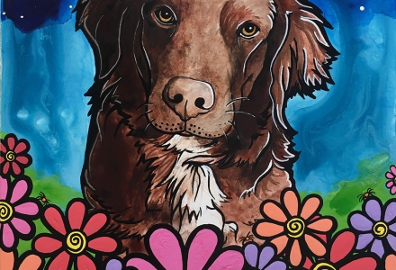 RobiniArt Nova Scotia Duck Tolling Retriever Portrait Sadie